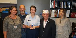 cadet wins maricopa vfw voice of democracy essay contest inmaricopa freshman cadet emily trast won the local voice of democracy contest submitted photo
