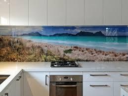 Kitchen Splashback Printed Images On Glass Kitchen Splashbacks And Glass Wall Art