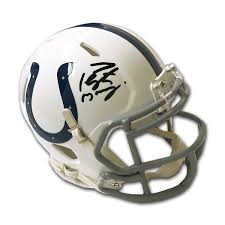 But this isn't about the similarly, if you don't like the colts, you might look at their helmets and say, congratulations. Peyton Manning Indianapolis Colts Autographed Mini Helmet Autograph Authentic Permanent Store Touch Of Modern
