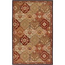 artistic weavers john red 2 ft x 3 ft area rug