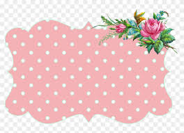 picture frames pink flowers clip art birthday wishes for asma 299042
