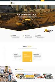 Construction Website Templates Simply Construction Website Template 24 21