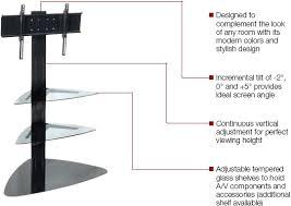 flat panel mount tv stand. Peerless SS550P SmartMount Flat Panel TV Stand With Two Shelves For 32\ Mount Tv D