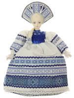 """<b>Кукла</b>-<b>грелка</b> на заварочный <b>чайник</b> """"Ульяна"""", арт. 22 купить"""