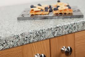 a stylish blend of neutral shades our granite effect worktops look as good close up as they do from a distance