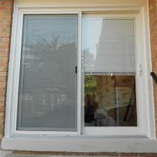Creativity Sliding Patio Doors With Built In Blinds Glass Lowes On Ideas