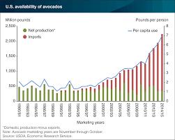 Avocado Price Chart 2018 Usda Ers Chart Detail