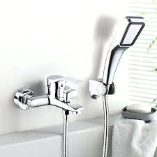 water coming out of bathtub faucet and shower head bathroom shower faucet bath faucet mixer