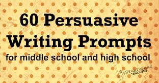 high school persuasive essay