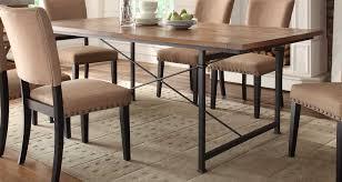 rustic oak piece dinette homelegance derry dining table rustic oak