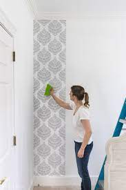 Peel & Stick Wallpaper: How My First ...