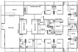 6444 Sf Medical Clinic Floor Plan  Ramtech Building SystemsDoctor Office Floor Plan