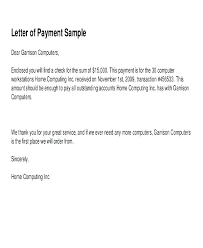 Letter Doc Payment Receipt Letter Latest For Money Received Sample Elegant