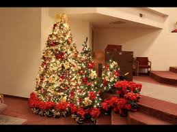 christmas trees decorated in red and gold. Wonderful And Christmas Tree Ideas Gold Intended Trees Decorated In Red And E