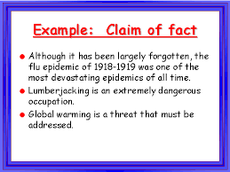 claim of fact essay sample claim of fact essay