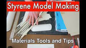 Styrene Tutorial Guide basic intro plastic model making modeling tips and  tricks (Part 1) - YouTube
