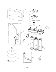 Kenmore reverse osmosis parts model
