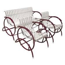 deco garden furniture. art deco glider patio seating set garden furniture o