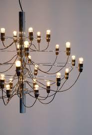 gino sarfatti chandelier for arteluce