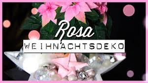 Rosa Weihnachtsdeko Weihnachten 2019
