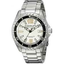stuhrling prestige watches price in best stuhrling stuhrling original mens 382 33112 prestige swiss regatta captain quartz diver date silver dial watch