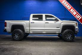 2014 gmc sierra lifted white. 2014 gmc sierra 1500 slt all terrain 4x4 gmc lifted white