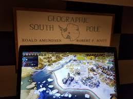 i made the amundsen scott south pole station at the amundsen scott south pole station
