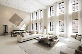 Two Sophisticated Luxury Apartments In NY Includes Floor Plans - Nice apartment building interior