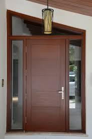 Front Doors  External Solid Hardwood Front Doors Extraordinary Solid Wood Contemporary Front Doors Uk