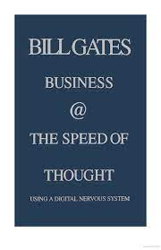 Business @ the Speed of Thought | Thoughts, Business, Kindle books