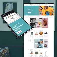 Website Gallery Design Ideas Website Template For Art Gallery Store Motocms