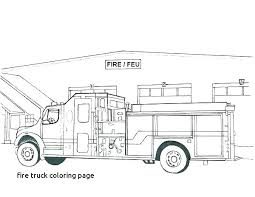 Fire Engine Coloring Pages To Print Fire Truck Coloring Page Free