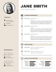 Business Resumes Template 15 Resume Design Tips Templates Examples Venngage