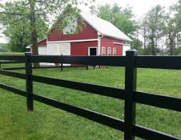 brown vinyl horse fence. Horse Fences In Chariot Post \u0026 Rail Brown Vinyl Fence X