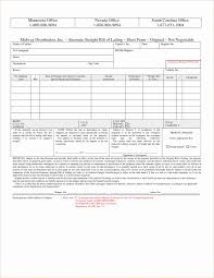 Word Bill Of Lading Template Bill Of Lading Templates New Microsoft Word Bill Lading Template
