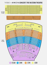 Wiltern Seating Chart