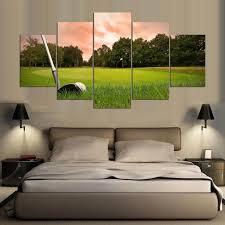 5 piece canvas art hd print canvas room home decor wall art hd golf canvas for on golf wall art near me with 5 piece canvas art hd print canvas room home decor wall art hd golf