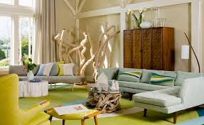 mid century modern living room. View In Gallery Smart Midcentury Modern Living Room With Bright Pops Of Yellow Mid Century