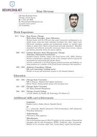 Latest Resume Format Great 65 On Examples With Well Picture