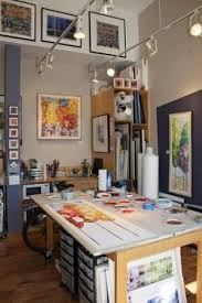 painting studio lighting. first friday in denveru0027s artdistrict on santa fe painting studio lighting