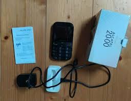 Senioren Handy Alcatel 2000 mit Radio ...