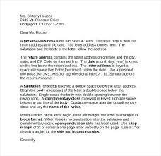 Business Letter Sample Word | Nfcnbarroom.com