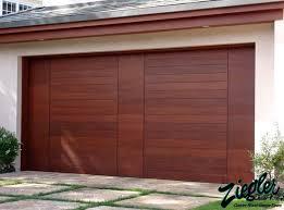 Brilliant Modern Wood Garage Doors I Inside Inspiration Decorating