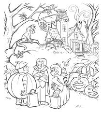 Gratuit Halloween Deguisements Coloriage Halloween Coloriages