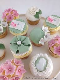 Vintage Mothers Day Cupcakes Cake By Edible Essence Cake Art