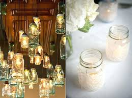 Mason Jar Decorations For A Wedding mason jars centerpieces ideas diffractions 37