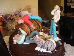 Funny 50th Birthday Cakes Cake Was Made By The Wife To The