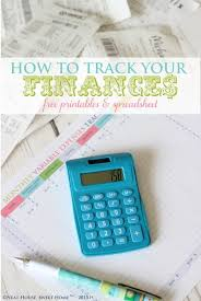track your spending how to track your finances free printable neat house sweet home
