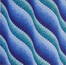 Twist-and-Turn Bargello Quilts by Eileen Wright & Supernova and Surf Song Adamdwight.com