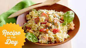 Preheat the broiler to high. Recipe Of The Day Ree S Picnic Pasta Salad The Pioneer Woman Food Network Youtube